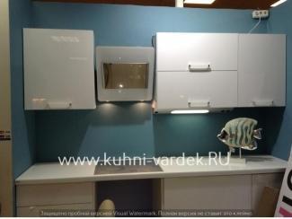 Белоснежный кухонный гарнитур Айфон - Мебельная фабрика «Кухни Вардек»