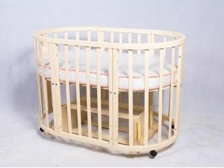 Детская кроватка-трансформер ПАПА КАРЛО 10 В 1 - Мебельная фабрика «Папа Карло»
