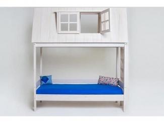 Двухъярусная кровать Дом приключений  - Мебельная фабрика «МебельМульт»