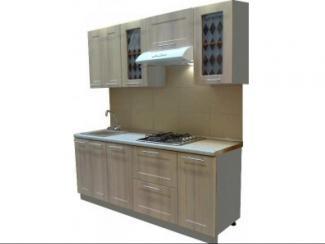 Кухонный гарнитур прямой Лиственница - Мебельная фабрика «Петербургская мебельная компания (ПМК)»