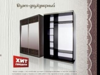 Шкаф-купе Дуэт двухдверный - Мебельная фабрика «Кипарис»