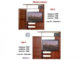 Мини-стенка 09 - Мебельная фабрика «МЕБЕЛов»