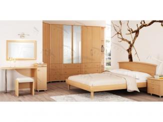 Спальный гарнитур Прайд 1 Бук