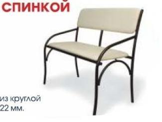 Банкетка-скамья со спинкой - Мебельная фабрика «Модуль», г. Лениногорск