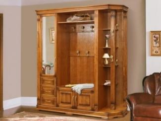 Шкаф комбинированный для прихожей Верди 2 П410.02 - Мебельная фабрика «Пинскдрев»
