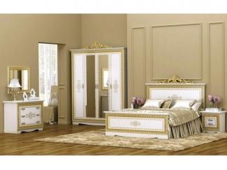Спальня в бежевых тонах Оливия  - Мебельная фабрика «ИнтерДизайн»