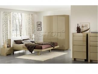 Модульная глянцевая спальня J109 Jacqueline - Мебельная фабрика «Астрон»