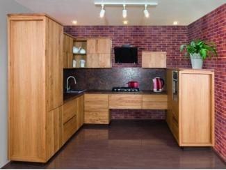П-образная мебель для кухни Квадро