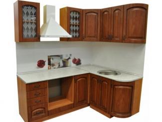 Кухня угловая Патина Черешня - Мебельная фабрика «Техсервис»