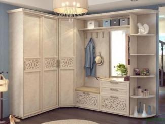 прихожая Александрия кожа ленто 1 - Мебельная фабрика «Любимый дом (Алмаз)»