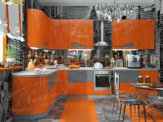 Кухня угловая «City Мегаполис» - Мебельная фабрика «Ладос-мебель»