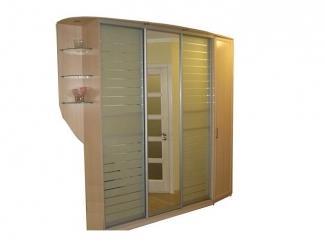 Шкаф-купе с пескоструйным рисунком - Мебельная фабрика «Интерьер-мебель»