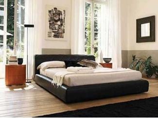 Черная кровать   - Мебельная фабрика «Мастер Мебель-М»