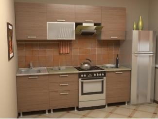 Кухня прямая Азалия комплектация 7 - Мебельная фабрика «Алсо»