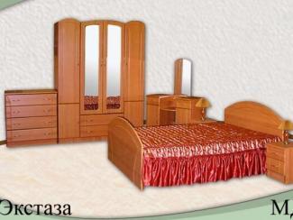 Спальня Экстаза (МДФ) - Мебельная фабрика «Элна»