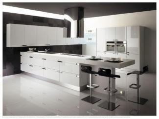 Белая кухня COMETA - Мебельная фабрика «Европлак», г. Подольск