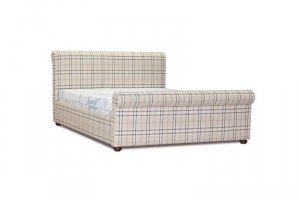 Кровать Барбэри ПМ  с подъемным механизмом - Мебельная фабрика «Славянская мебельная компания (СМК)»