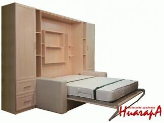 Шкаф с подъемной кроватью  - Мебельная фабрика «Ниагара», г. Санкт-Петербург