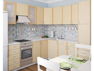 Кухонный гарнитур угловой Клён - Мебельная фабрика «Спутник»