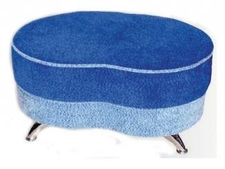 Синий пуф Фасоль  - Мебельная фабрика «Вега»