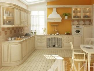 Кухня Аугуста массив - Мебельная фабрика «Линда»