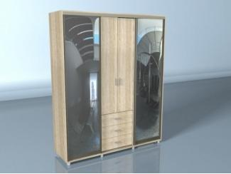 Шкаф-купе с алюминиевым профилем Мадрид - Мебельная фабрика «Средневолжская мебельная фабрика»