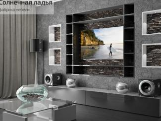 Шкаф - купе для гостиной 12 - Мебельная фабрика «Солнечная ладья»