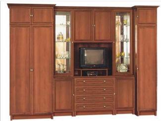Гостиная стенка Карина-1 ЛДСП - Мебельная фабрика «Гамма-мебель»