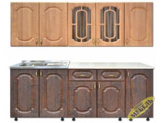 Кухня прямая 75 - Мебельная фабрика «Трио мебель»
