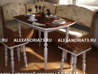 Кухонный уголок с утяжкой - Мебельная фабрика «Александрия»