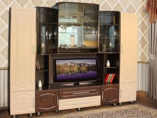 Гостиная стенка Татьяна-Люкс 1 - Мебельная фабрика «Кошелев и К»