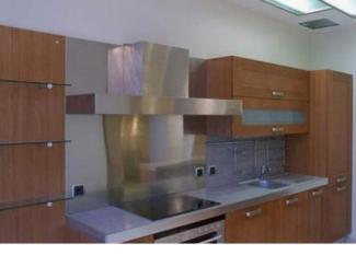 Кухонный гарнитур прямой 02 - Мебельная фабрика «Алиса»