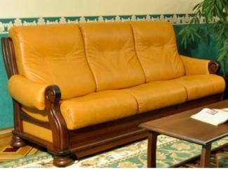 Диван-кровать Ричмонд кожаный - Мебельная фабрика «Авангард»