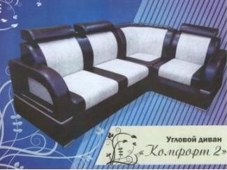 Угловой диван с подголовником Комфорт 2 - Мебельная фабрика «Фараон»
