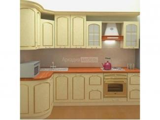 Классическая кухня с патиной Люкс 1 - Мебельная фабрика «Аркадия-Мебель»