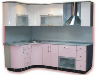кухня Золушка крашеная глянцевая - Мебельная фабрика «Киржачская мебельная фабрика»