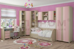 Детская Валерия композиция 6 - Мебельная фабрика «Лером»