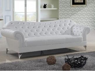 Лайнол кожаный диван - Мебельная фабрика «ДЕФИ»