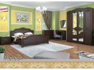 Классическая мебель для спальни Лотос  - Мебельная фабрика «Мебельная Сказка»