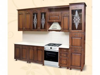 Кухонный гарнитур прямой Орхидея - Мебельная фабрика «Шанс»