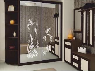 Шкаф-купе в прихожую с зеркалами - Мебельная фабрика «Аллоджио»