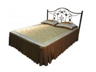 Кровать двойная металлическая  Олеся-1600 - Мебельная фабрика «Металл конструкция»