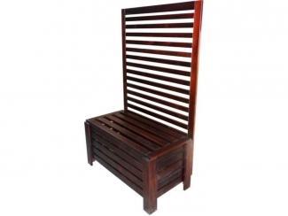 Прихожая из массива кедра - Мебельная фабрика «Доброе дерево»
