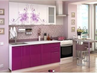 Кухня с фотопечатью Нежность