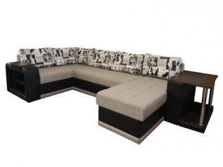 Диван угловой Квадро с оттоманкой - Мебельная фабрика «Норма»