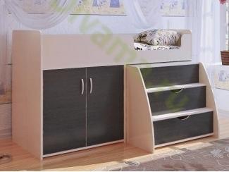 Кровать-чердак Орбита 8 - Мебельная фабрика «Фиеста-мебель»