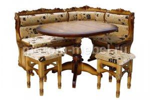 Кухонный уголок Уют резной-К - Мебельная фабрика «Муром-мебель»