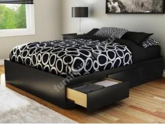 Кровать двуспальная с ящиками - Изготовление мебели на заказ «Игал»