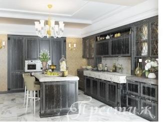 Кухня из массива дерева DOMENICA - Мебельная фабрика «Престиж»