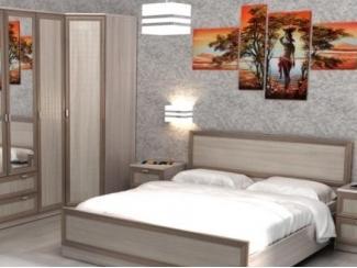 Спальный гарнитур Модена 3d - Мебельная фабрика «Престиж»